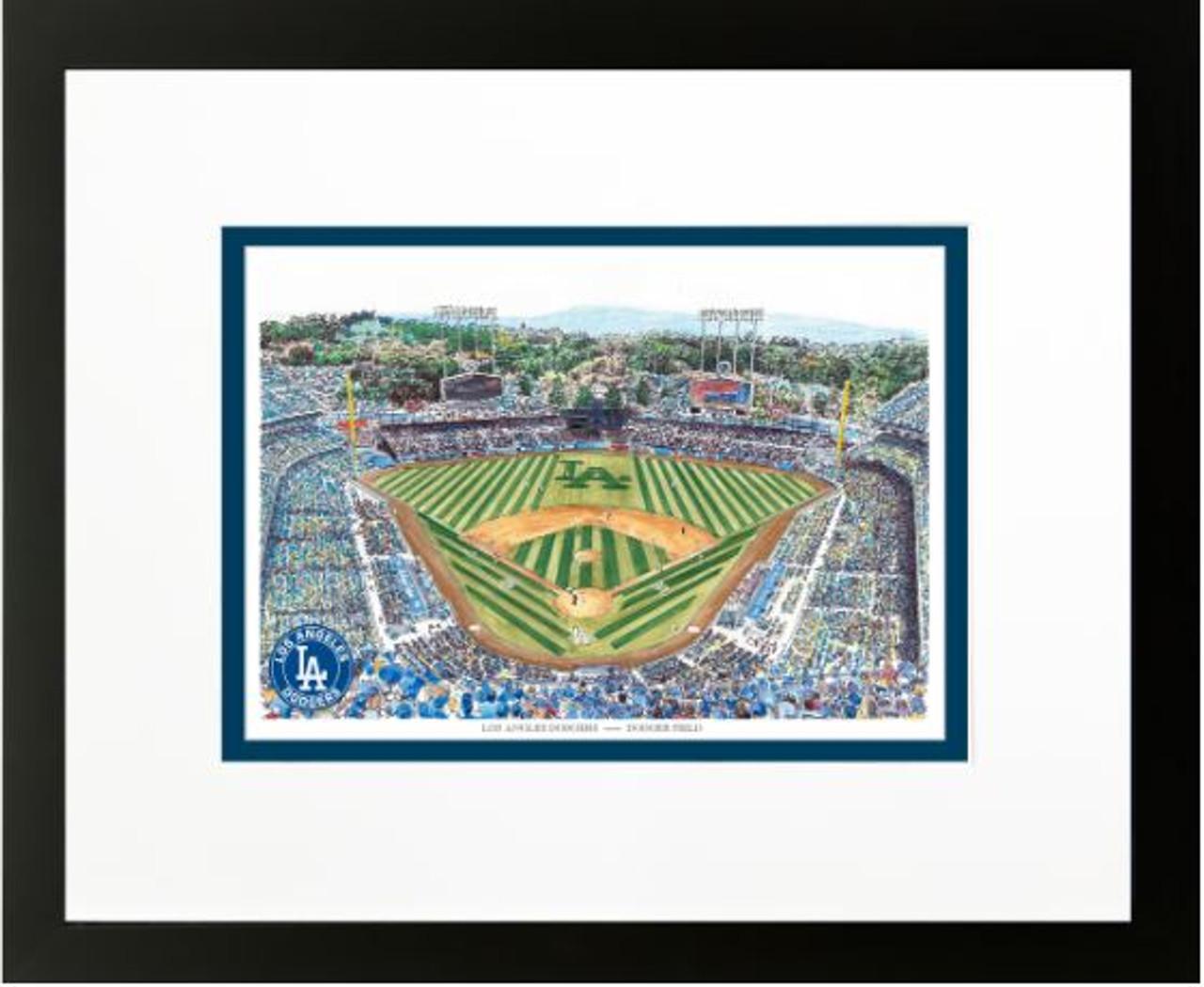 Dodger Stadium - Los Angeles Dodgers Art Print