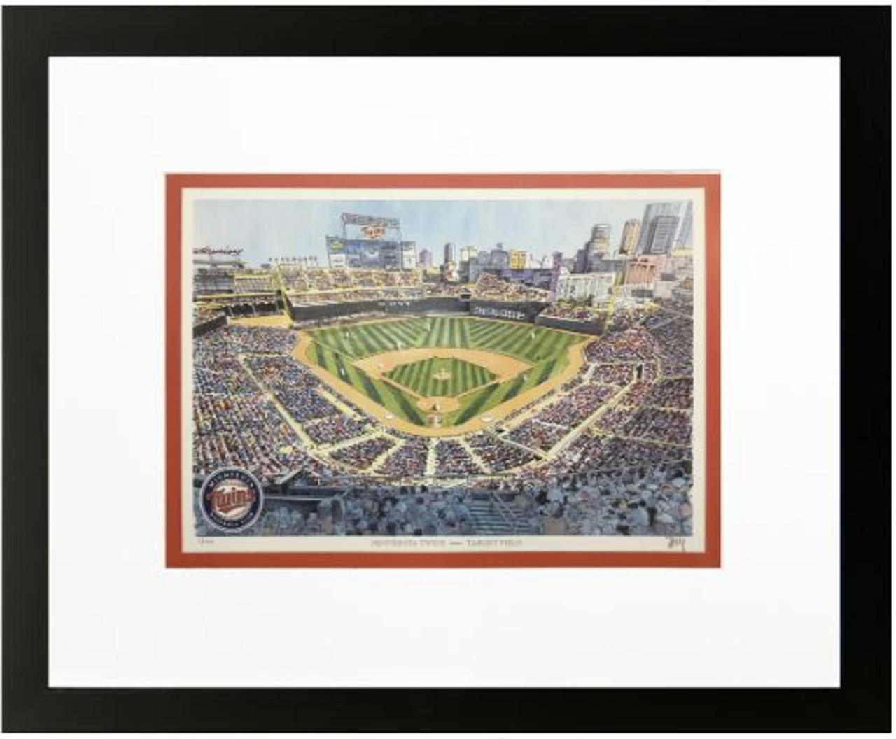 Target Field - Minnesota Twins Art Print