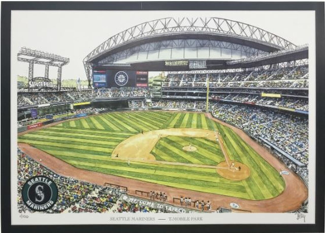 T-Mobile Park - Seattle Mariners Art Print