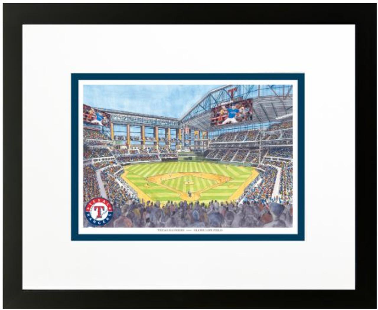 Globe Life Field - Texas Rangers Art Print