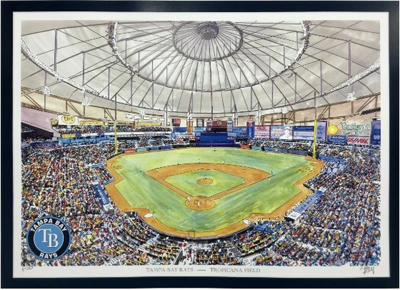 Tropicana Field - Tampa Bay Rays  Art Print
