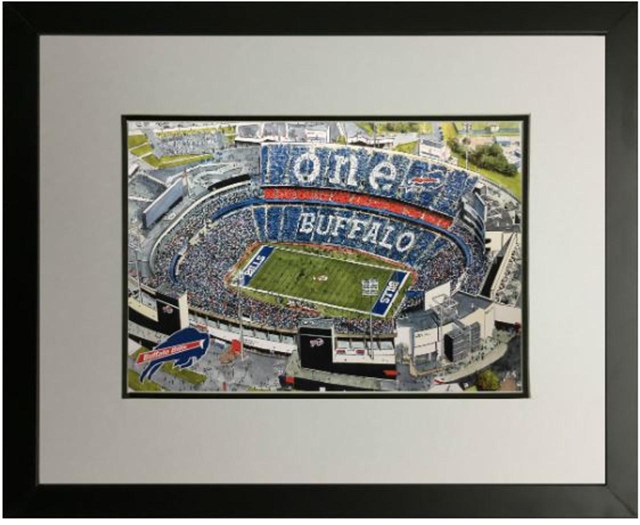Ralph Wilson Stadium - Buffal0 Bills  Art Print