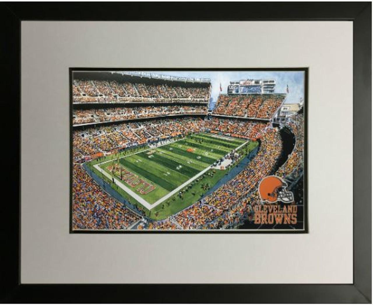 First Energy Stadium - Cleveland Browns  Art Print