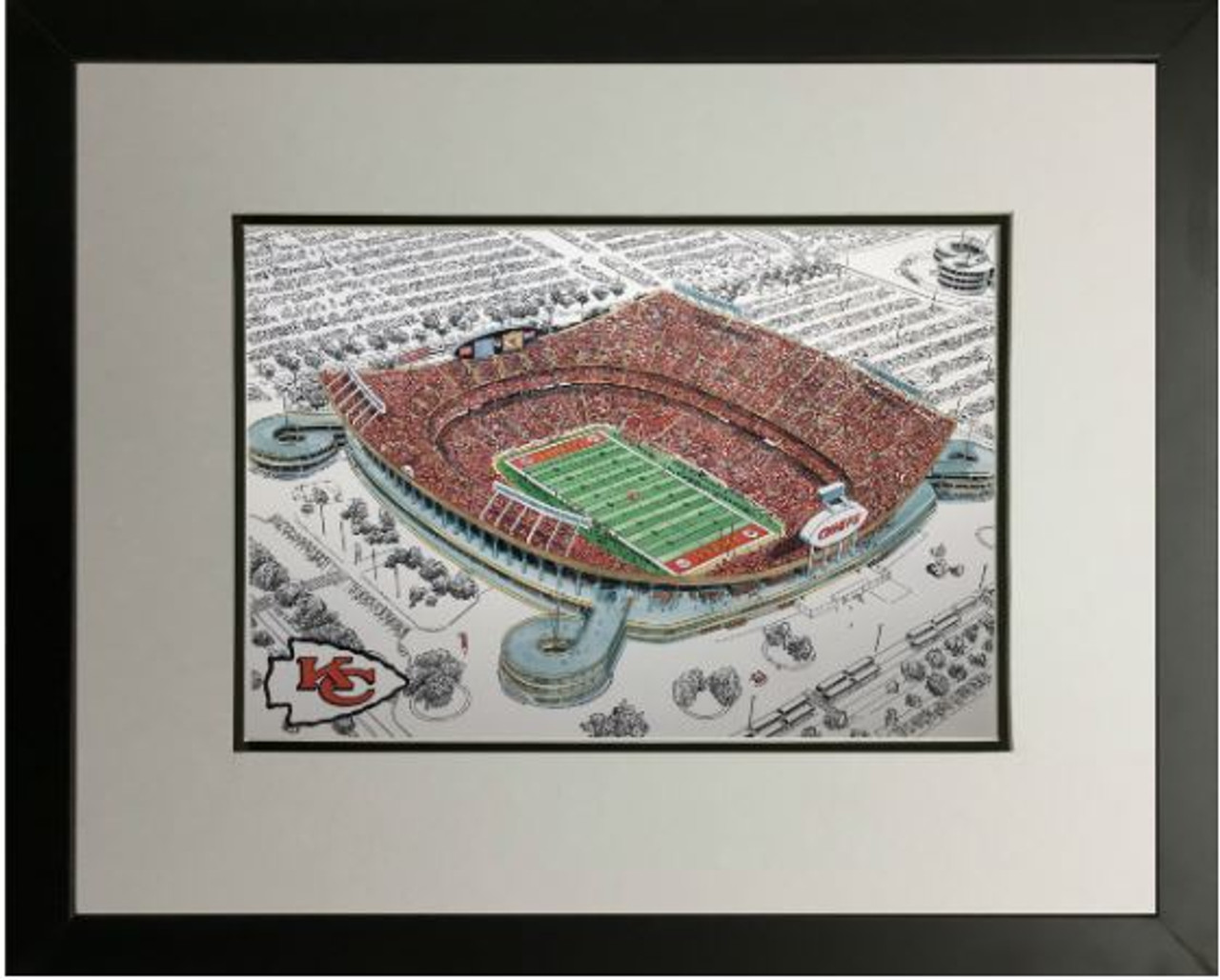 Arrowhead Stadium - Kansas City Chiefs  Art Print