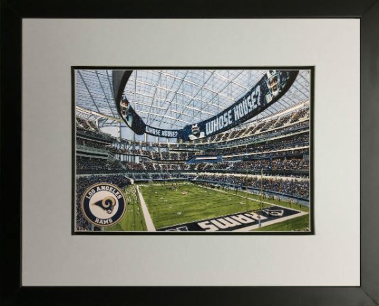 SOFI Stadium - Los Angeles Rams  Art Print