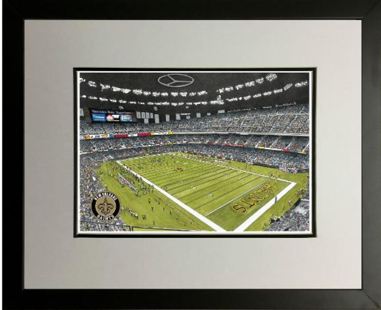 Superdome - New Orleans Saints Art Print