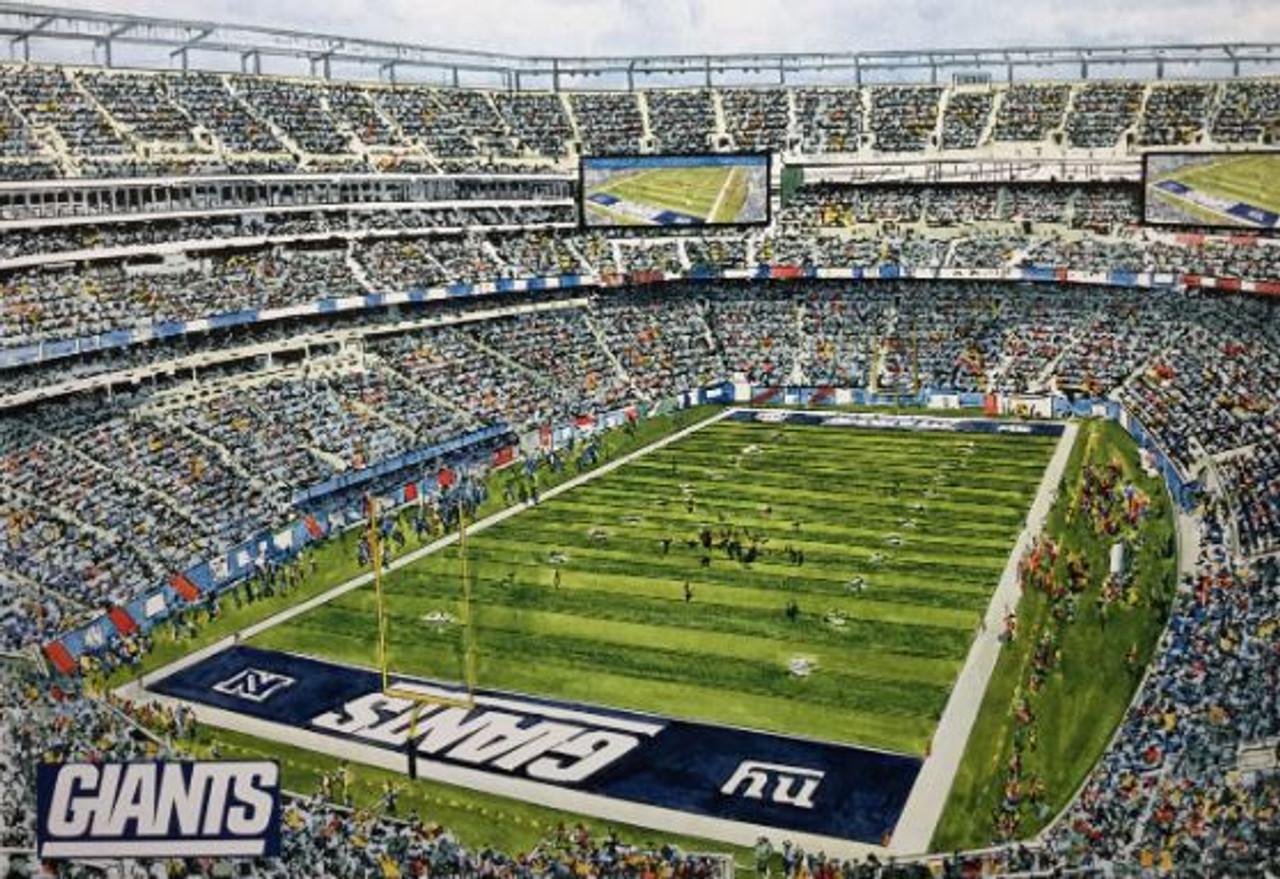 MetLife Stadium - New York Giants Art Print