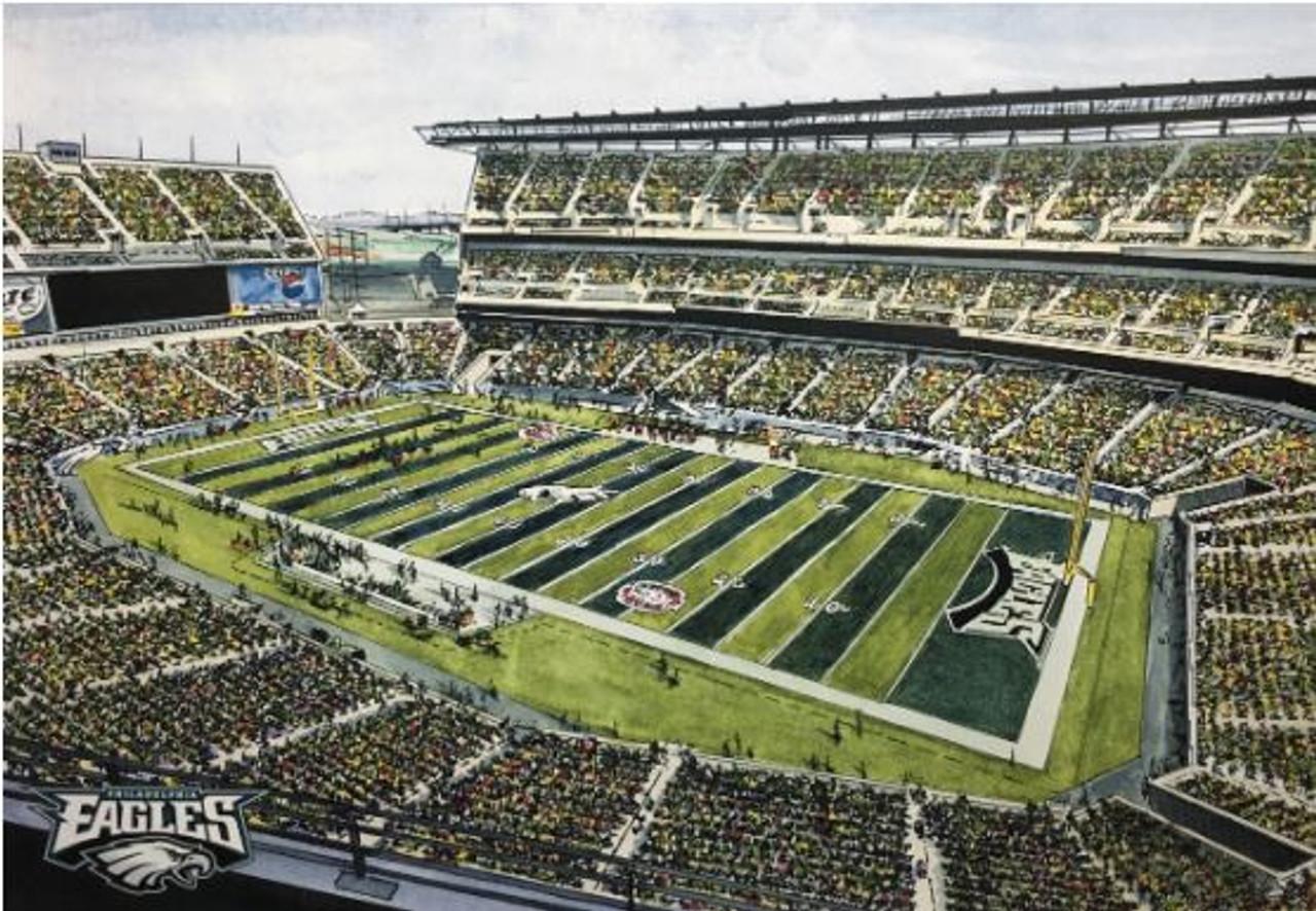 Lincoln Financial Field - Philadelphia Eagles Art Print