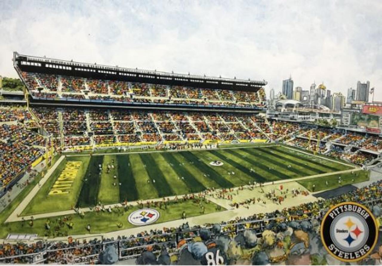 Heinz Field - Pittsburgh Steelers Art Print
