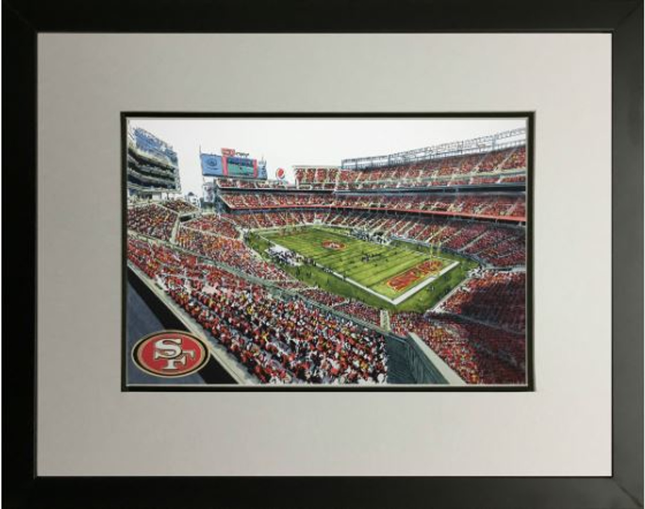 Levi's Stadium - San Francisco 49ers Art Print