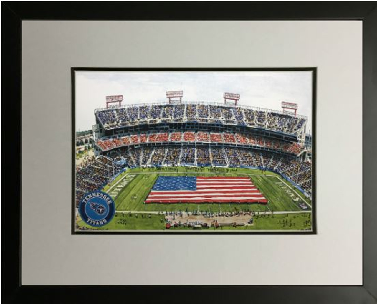 Nissan Stadium - Tennessee Titans Art Print