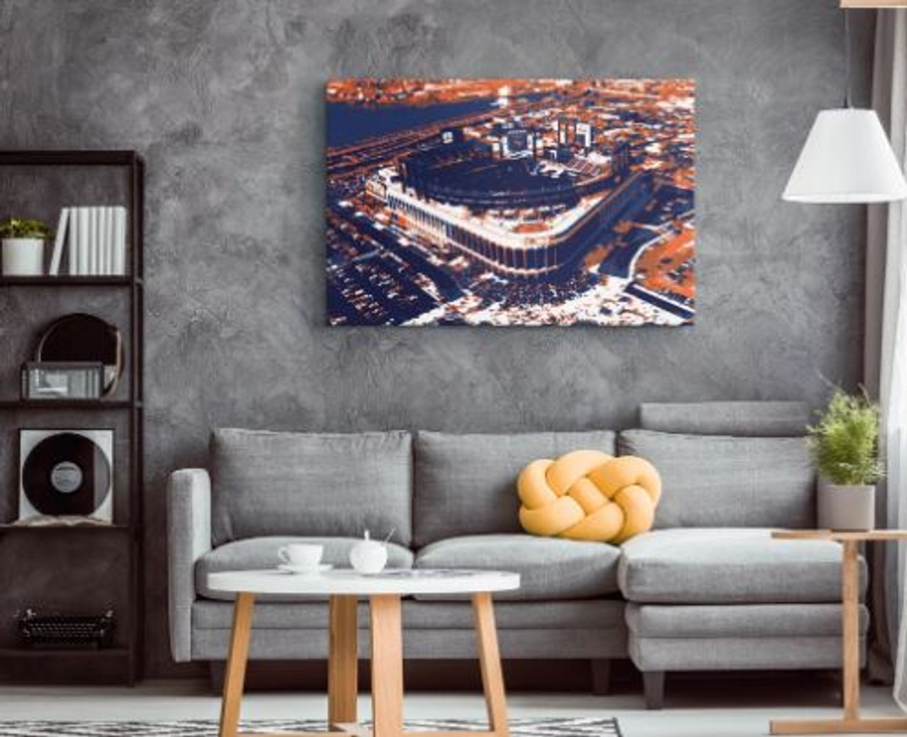 Citi Field - New York Mets Aerial Canvas Print
