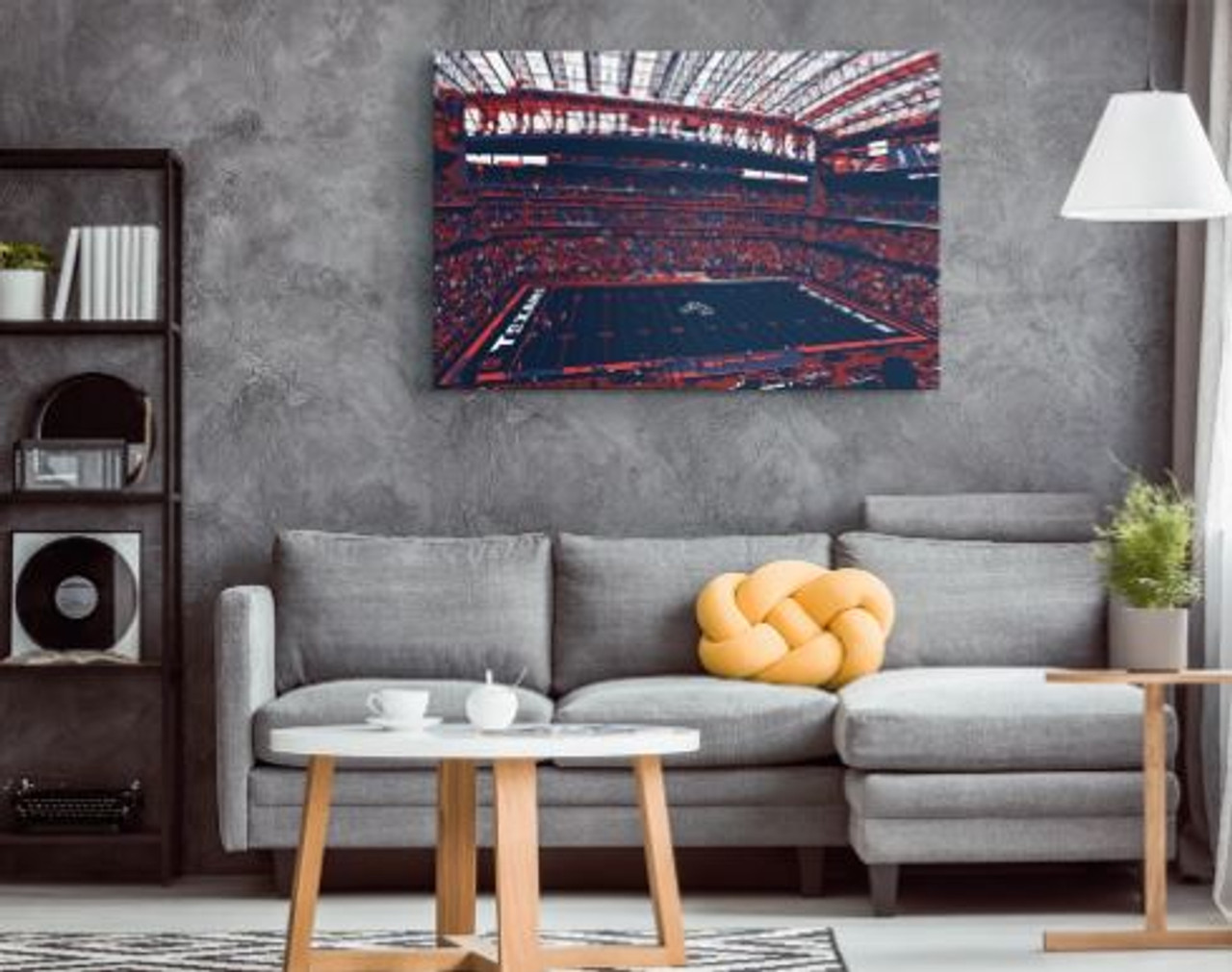 NRG Stadium - Houston Texans Canvas Print