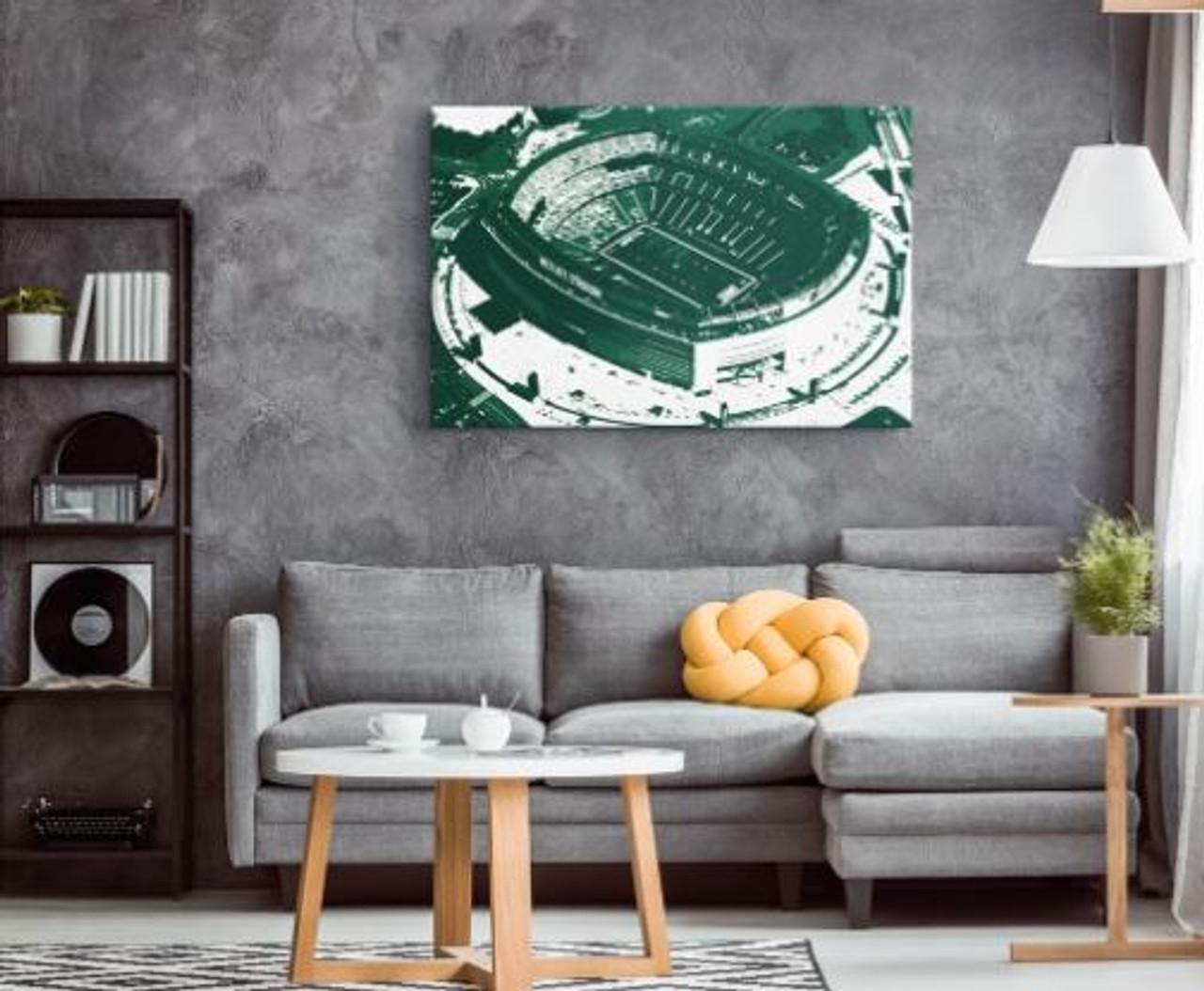 MetLife Stadium - New York Jets Aerial Canvas Print
