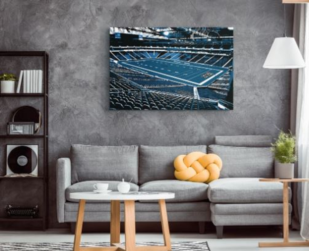 Ford Field - Detroit Lions Canvas Print