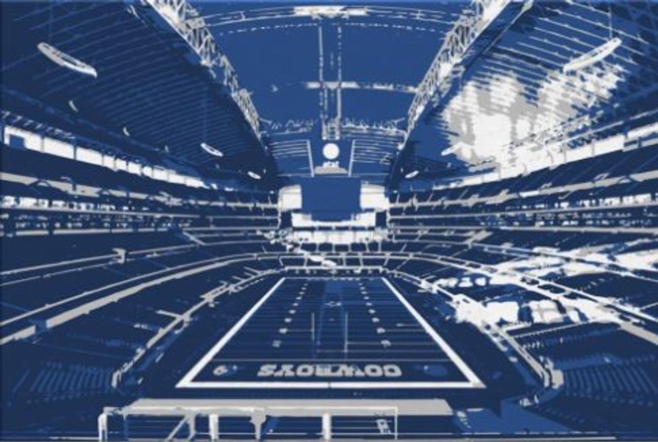 AT&T Stadium - Dallas Cowboys Canvas Print