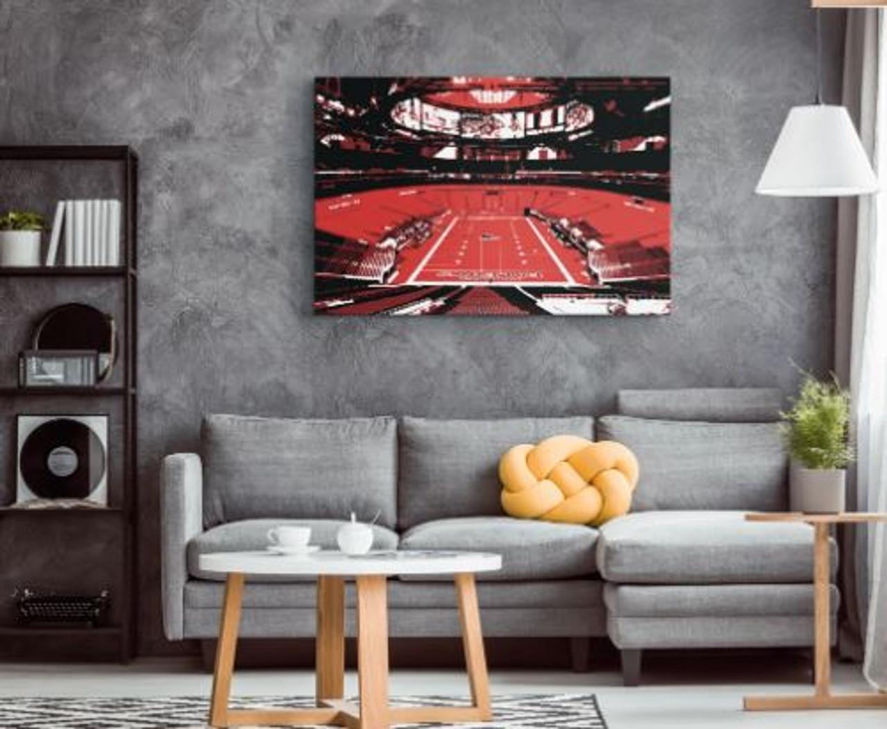 Mercedes-Benz Stadium - Atlanta Falcons Canvas Print