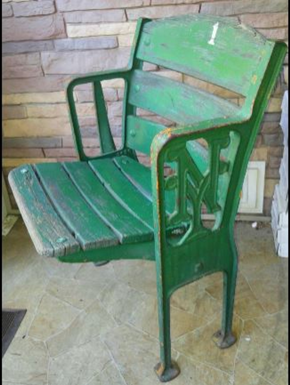 Polo Grounds Free Standing Box Seat - New York Giants