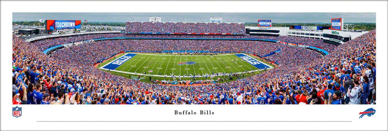 Buffalo Bills at High Mark Stadium Panoramic Poster