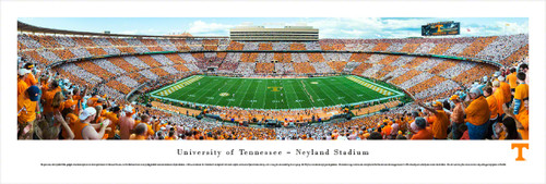 """Checkerboard"" Tennessee Volunteers at Neyland Stadium Panorama"
