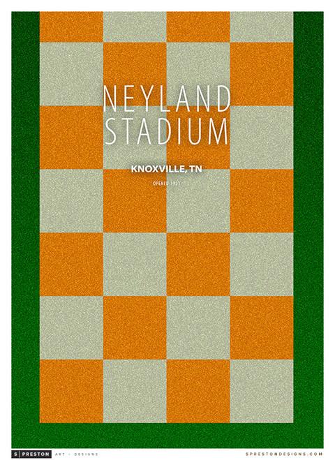 Tennessee Volunteers - Neyland Stadium Simple Print