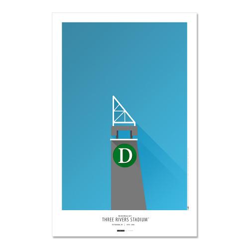 Pittsburgh Pirates - Three Rivers Stadium Art Poster