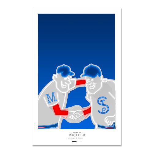 Minnesota Twins - Target Field Art Poster