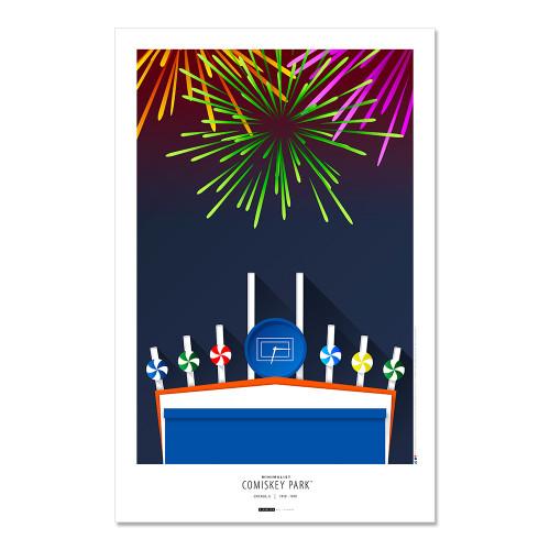 Chicago White Sox - Comiskey Park Art Poster