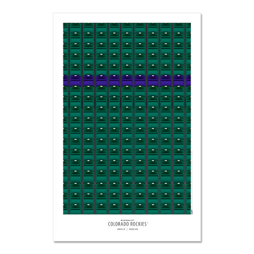 Colorado Rockies - Coors Field Art Poster