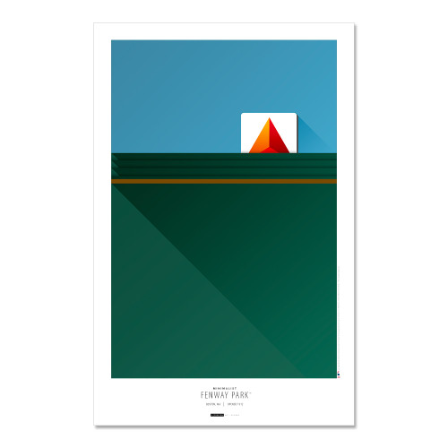 Boston Red Sox - Fenway Park Art Poster