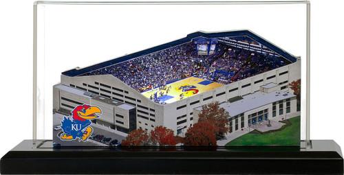 Kansas Jayhawks/Allen Fieldhouse 3D Stadium Replica