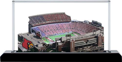 Louisville Cardinals/Papa John Cardinal Stadium 3D Replica