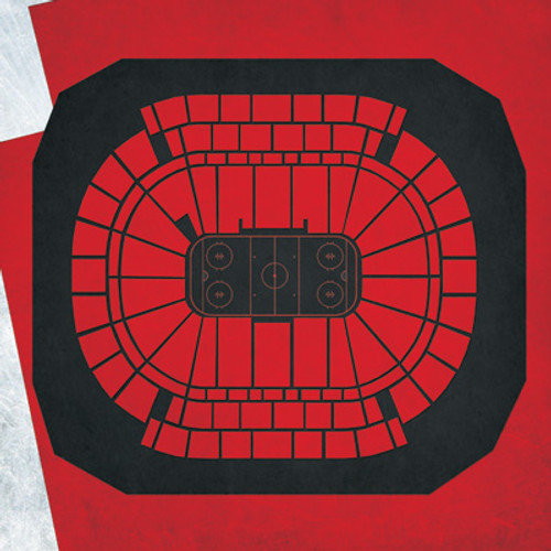 New Jersey Devils - Prudential Center City Print