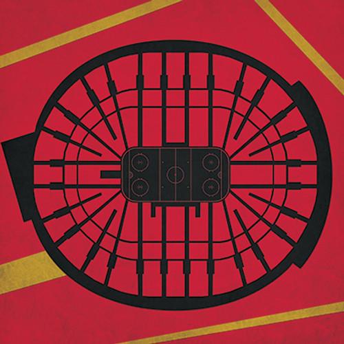 Ottawa Senators - Canadian Tire Center City Print