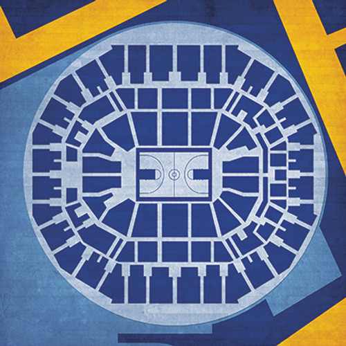 Memphis Grizzlies - FedEx Forum City Print