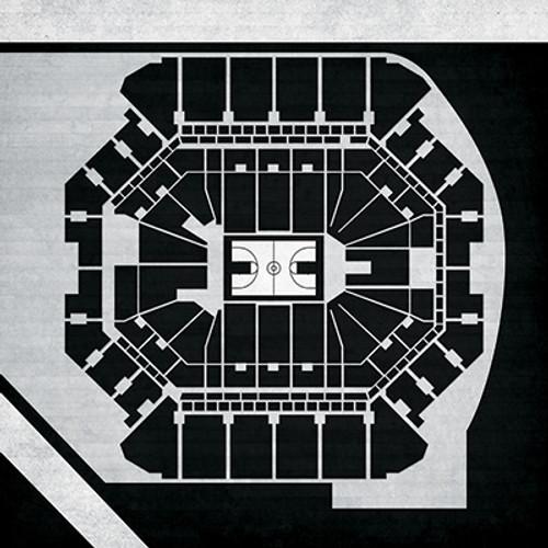Brooklyn Nets - Barclays Center City Print