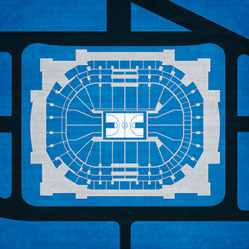 Dallas Mavericks - American Airlines Center City Print