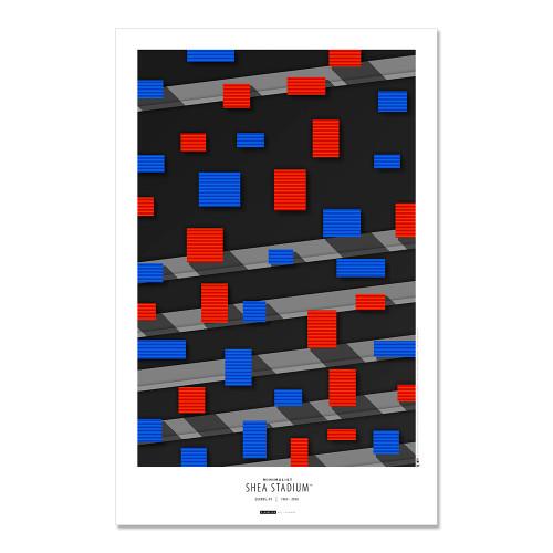 New York Mets - Shea Stadium Art Poster