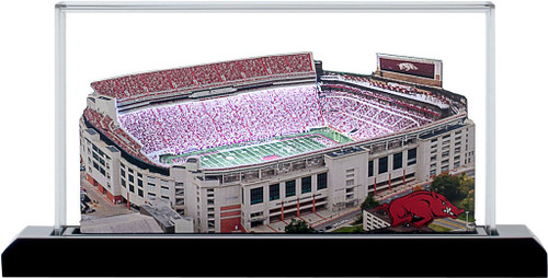 Arkansas Razorbacks/Razorback Stadium 3D Replica