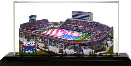 Florida Atlanta Owls - FAU Stadium 3D Stadium Replica