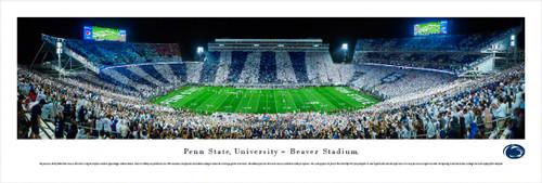 Penn State Nittany Lions at Beaver Stadium Panorama Poster