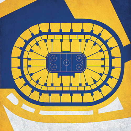 Buffalo Bruins - First Niagara Center City Print