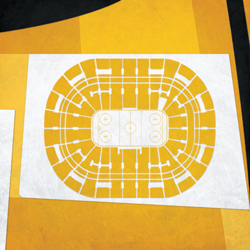 Boston Bruins - TD Bank Garden City Print