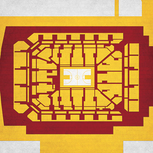 Minnesota Golden Gophers - Williams Arena City Print