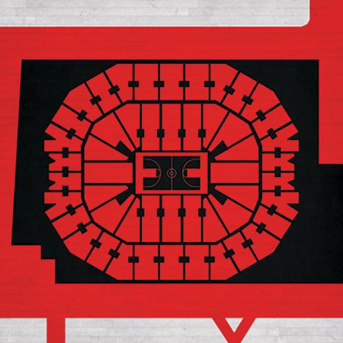Louisville Cardinals -KFC Yum! Center City Print