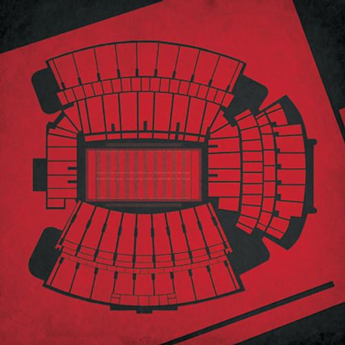 South Carolina Gamecocks - Williams Brice Stadium City Print