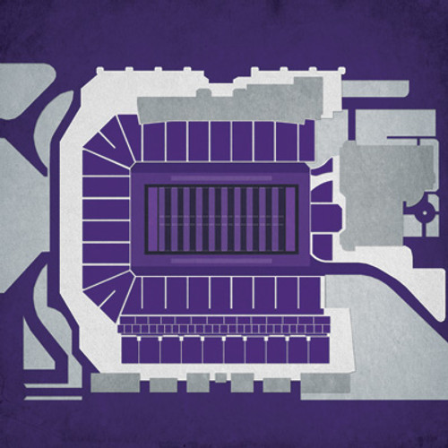 Kansas State Wildcats - Bill Snyder Stadium City Print