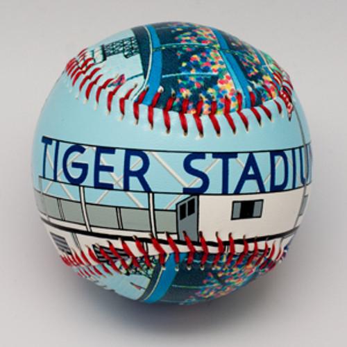 Tiger Stadium Baseball