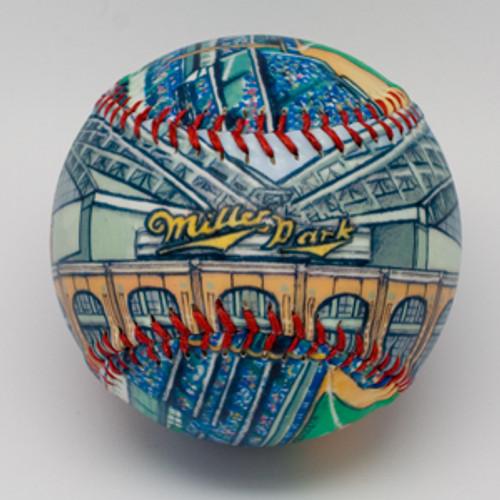 Miller Park Stadium Baseball