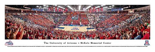 Arizona Wildcats Basketball at McKale Memorial Center Poster